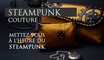 Steampunk couture !
