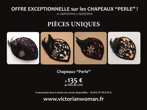 Flyer offre Chapeaux Perle FR reduction
