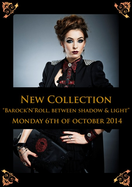 Page accueil - teaser annonce nouvelle collection barock UK