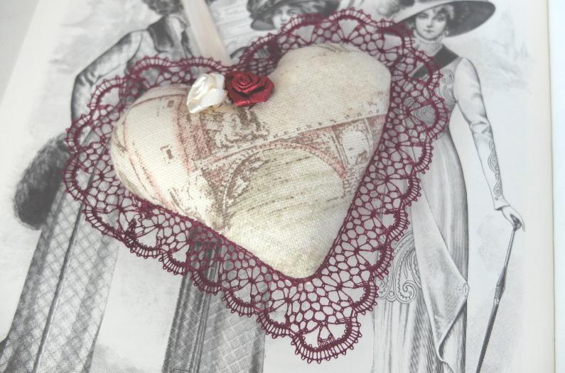 Déco – Cœur en dentelle