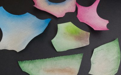 Les peintures aniline : test peinture 1