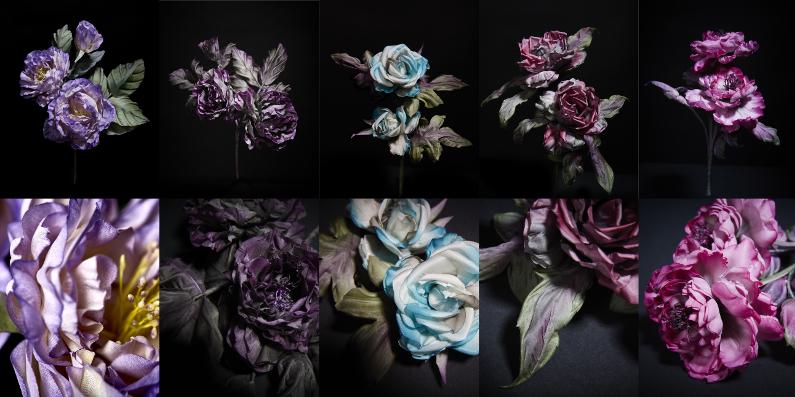 Compo 5 fleurs blog