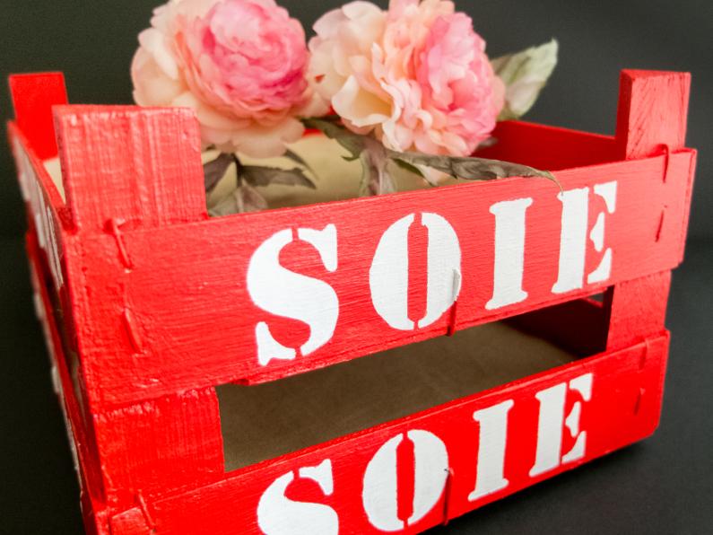 Caissettes en bois – Artisanat floral