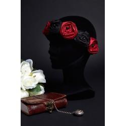 Couronne de roses Reine de Cœur
