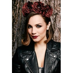 Crown of Roses Headband Beauté Fatale