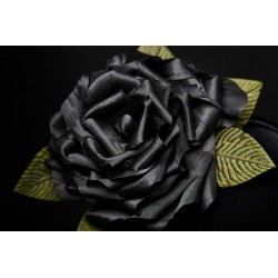 Black Silk Roses Headband - Arcana