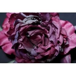 Handcrafted Rose Brooch Rosie