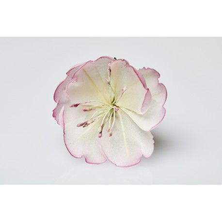 925 Silver Ring Ume - Pink