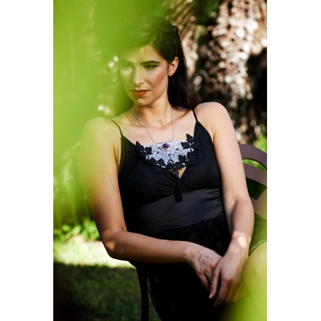 Silk Necklace Solstice