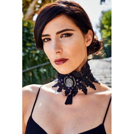 Victorian Lace Necklace Orion