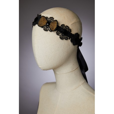 Headband Impératrice - Or