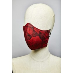 Red Roses Mask