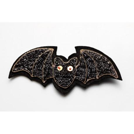 Black Bat Brooch