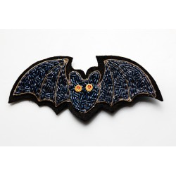 Black Bat Brooch