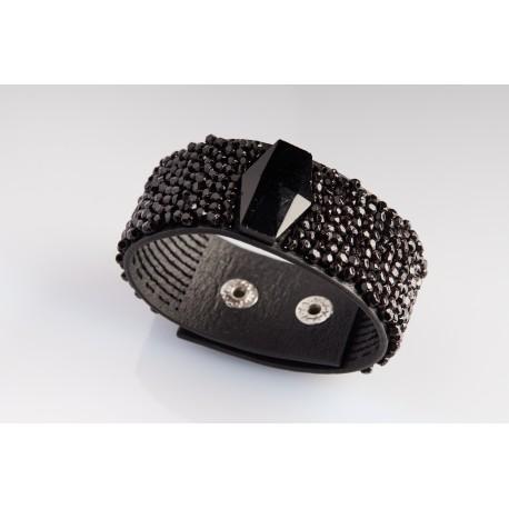 Nox Embroidered Bracelet – Large Model