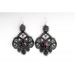 Arabesque – Rubis Earrings