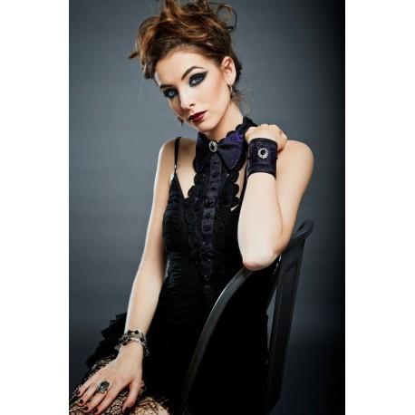 Collar Necklace Curiosité - Purple