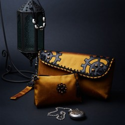Evening Clutch Bag Steampunk (Set)