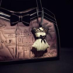 Corset Bag Charm Aurora