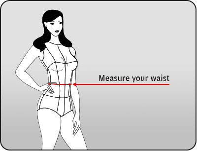 Measure your waist