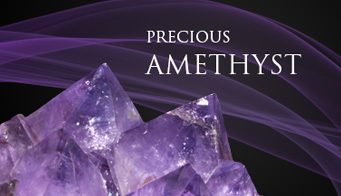 Précious and intense amethyst
