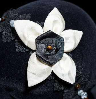 Nouveau bandeau de dentelle «Christabella»