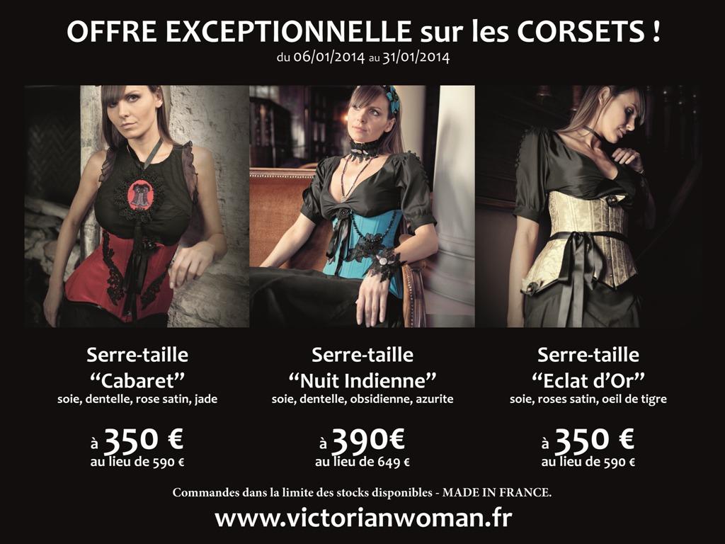 Flyer offre corsets janvier 2014