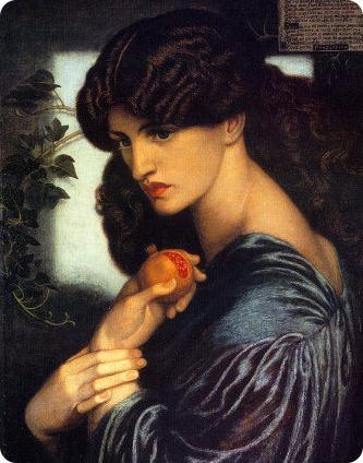 Proserpine Dante Gabriel Rossetti