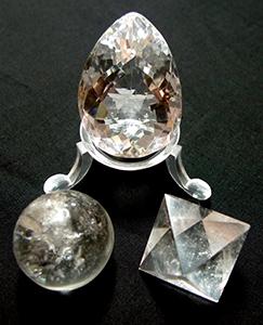Le quartz, Pierre de lumière
