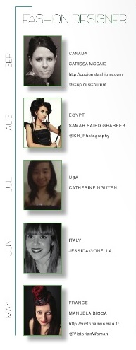 finalistes fashion designers