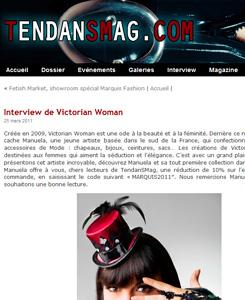 Tendansmag.com présente Victorian Woman