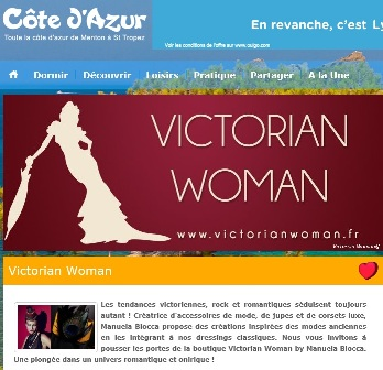 screenshot article cote d'azur
