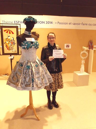 1er prix au salon Artisa Grenoble 2014!