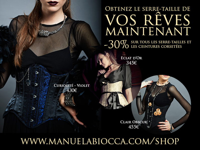 BLOG Promo 2015 corsets FR