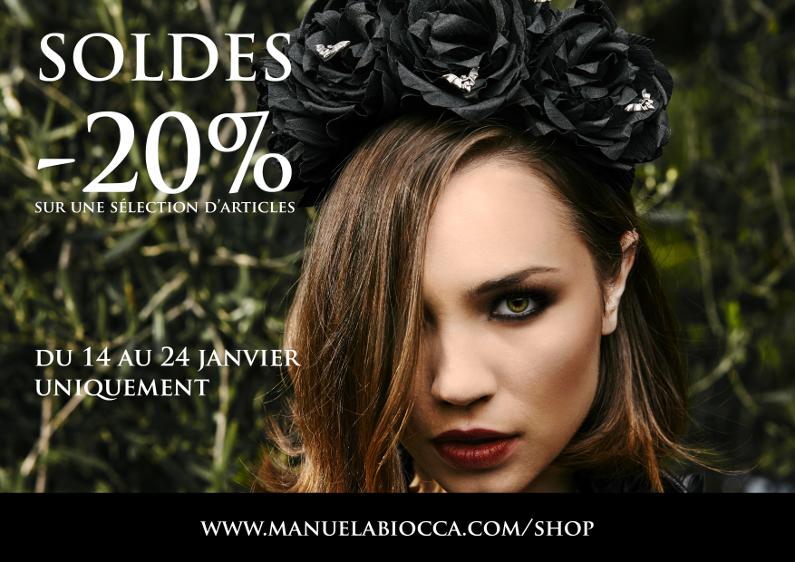 – 25% ! C'est les soldes chez Manuela Biocca