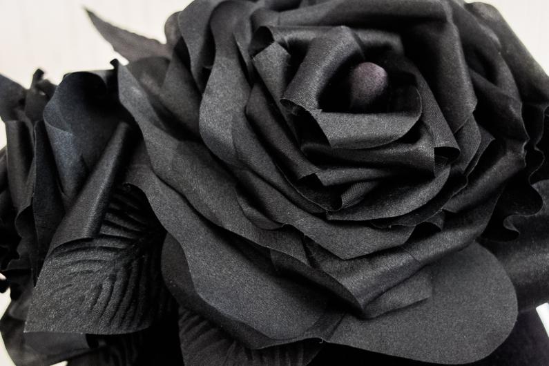 Ma couronne de roses en soie