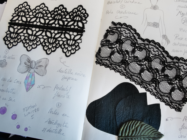 Sketch book – New lace designs