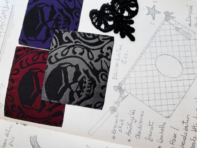 Sketch book – Bags Catacombes