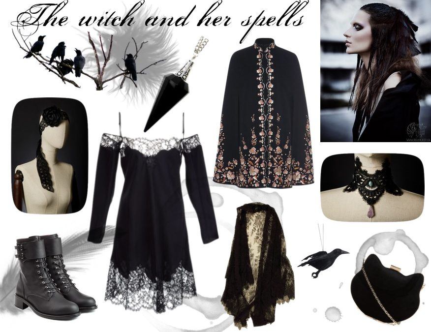 Look – The witch and her spells