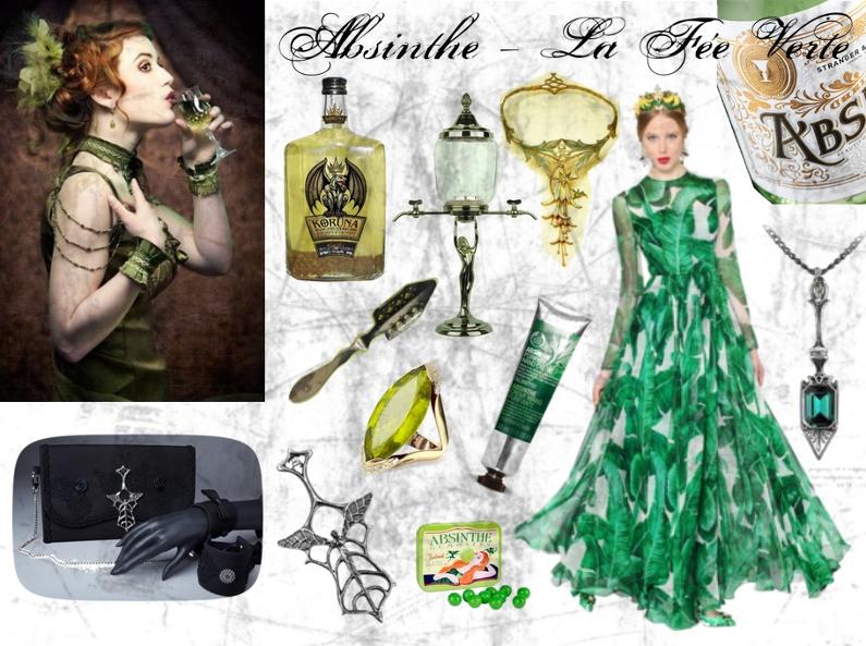 Look – Absinthe, la fée verte