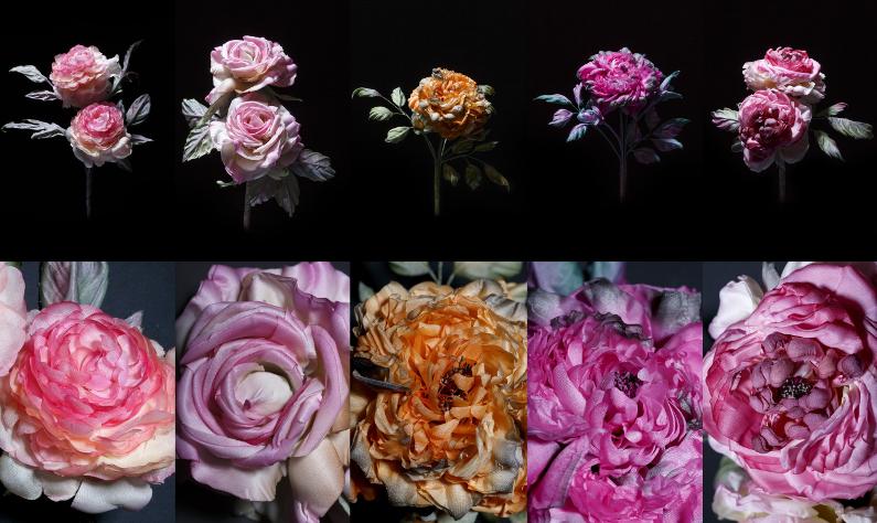 Report 2 – 10 handmade roses