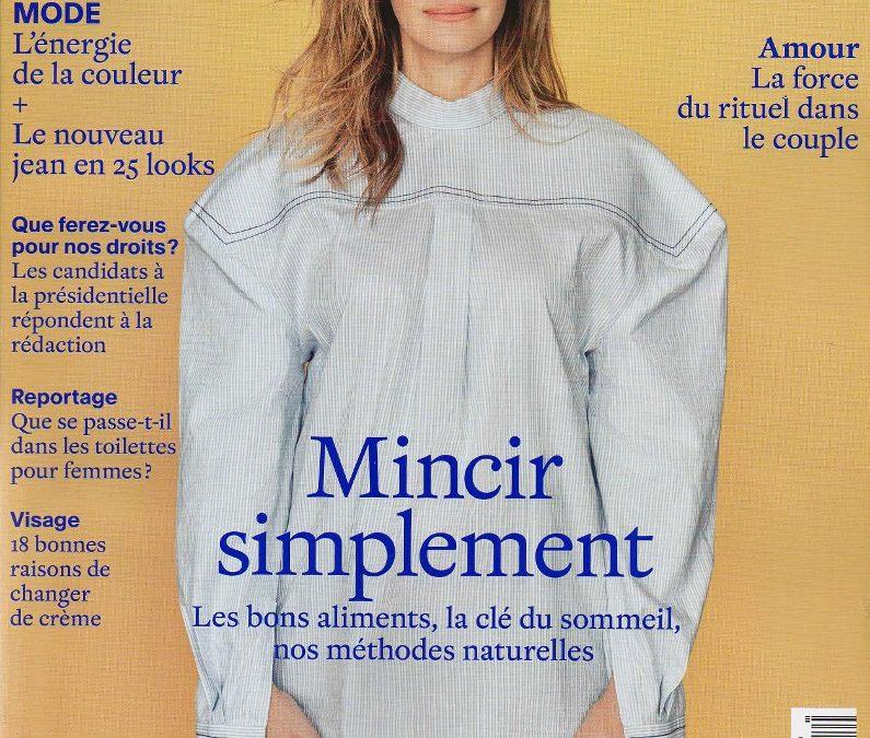 Publication Marie Claire Magazine