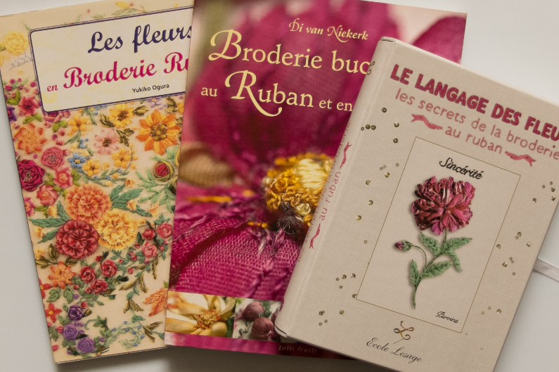 Books about ribbon embroidery