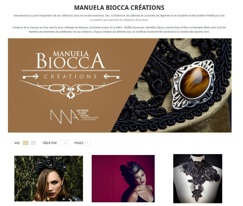 Manuela Biocca on the marketplace La Felle