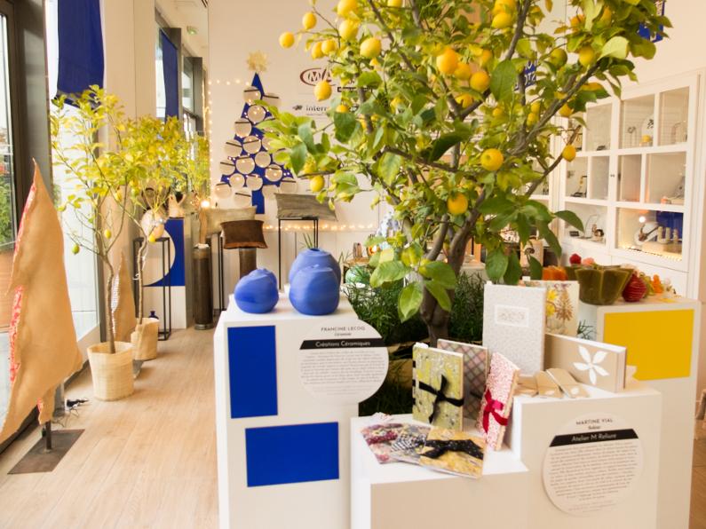 Photos boutique éphémère Polygone Riviera