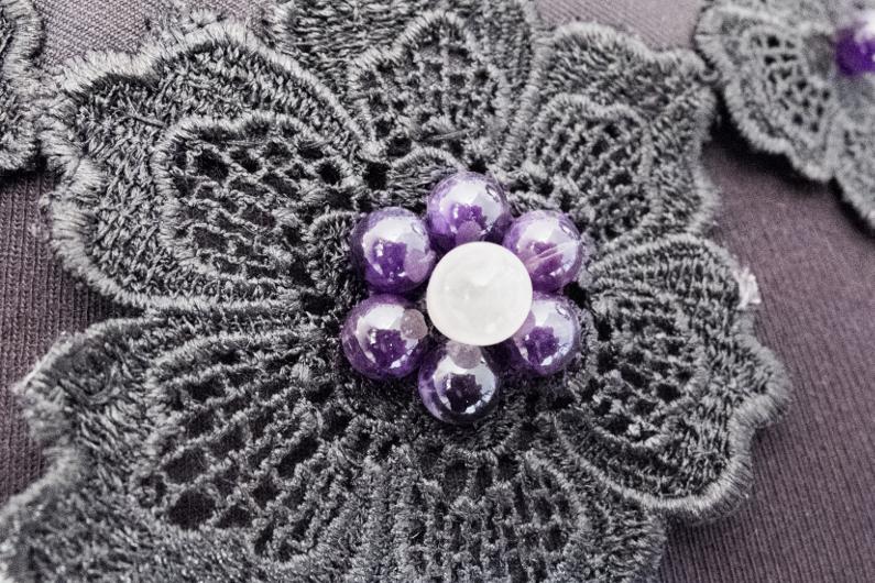 bijou amethyste quartz rose