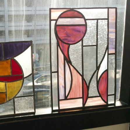 Stained-glass window workshop