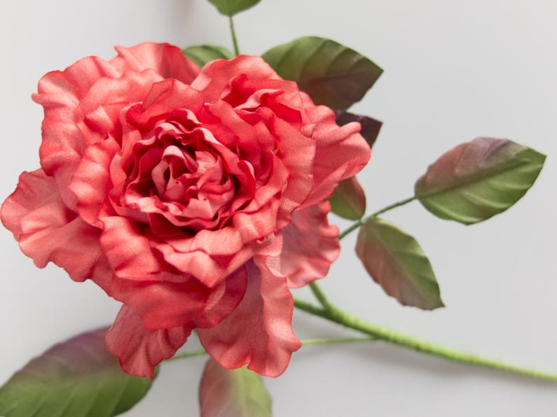 fleurs en soie