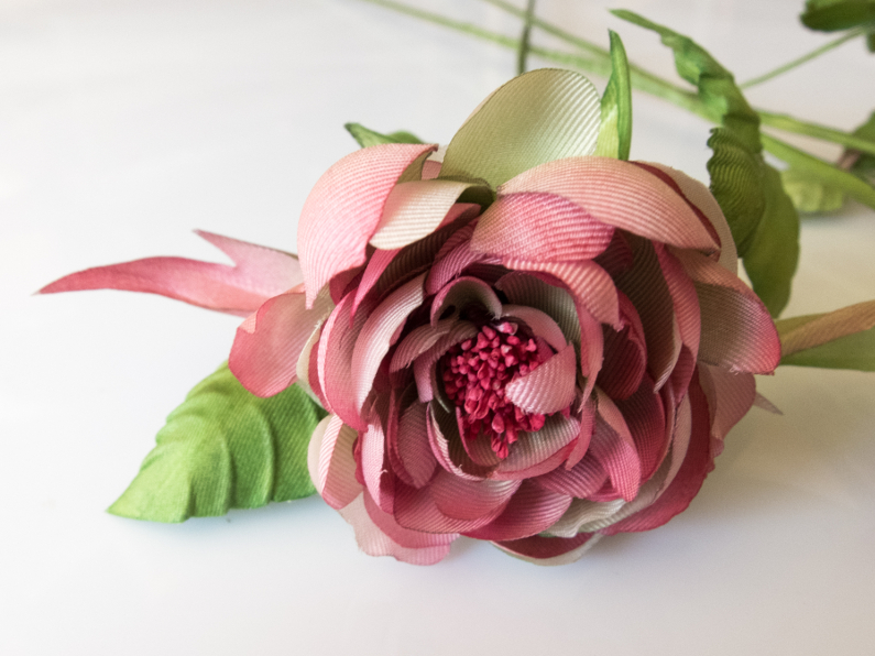 handmade silk flowers