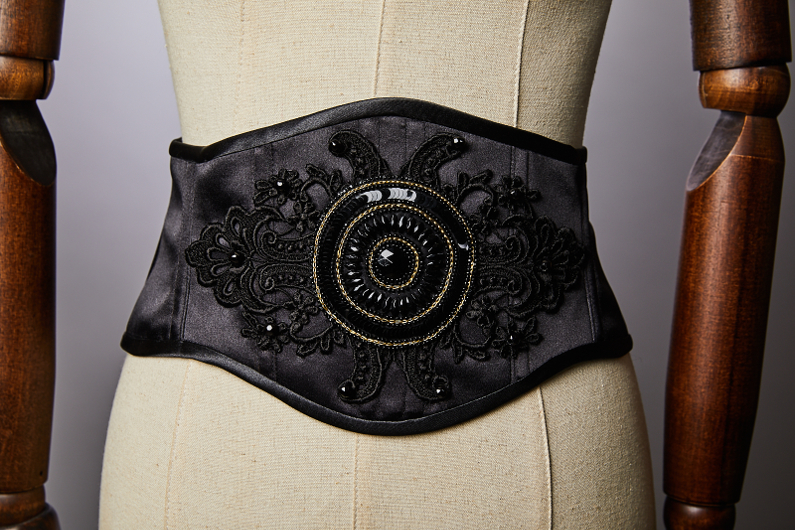 Klimt corseted belt.